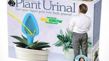 Plant Urinal Prank Product Box