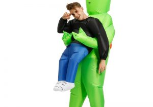 Abducted By Aliens Inflatable Fancy Dress Costume