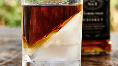 Whisky Ice Wedge Glass The Corkcicle