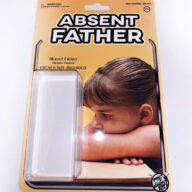 Absent Father Figure Action Toy Novelty Joke
